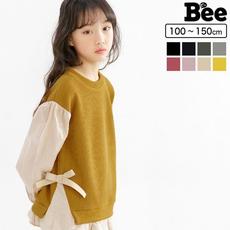 韓国子供服Bee レイヤード風トップス 女の子 | 子供服Bee | 詳細画像1