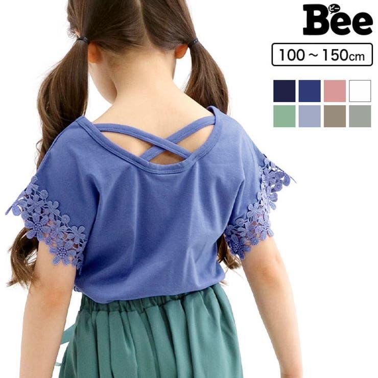 韓国子供服 Bee 半袖トップス 女の子   子供服Bee   詳細画像1