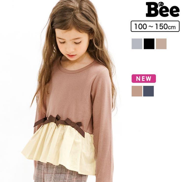 リボン長袖トップス 子供服 キッズ 女の子 | 子供服Bee | 詳細画像1