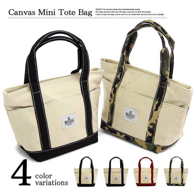 ミニ トートバッグ メンズ キャンバス コットン 小さい 小物入れ 手提げ 鞄 カバン