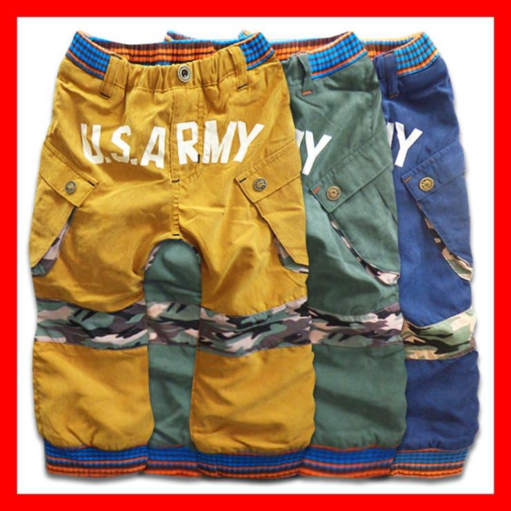 韓国子供服 男の子 ストレッチパンツ100cm   子供服バナナ小僧    詳細画像1