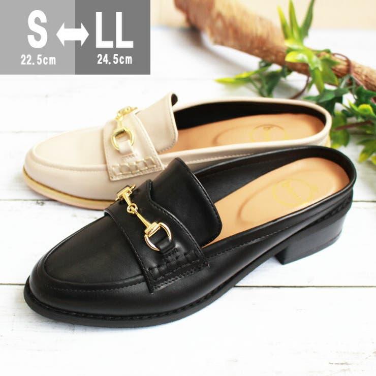 バブーシュ サンダル 黒 | 靴のニシムラ | 詳細画像1