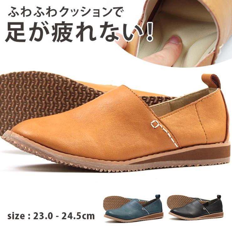 スリッポン レディース 23 | 靴のニシムラ | 詳細画像1