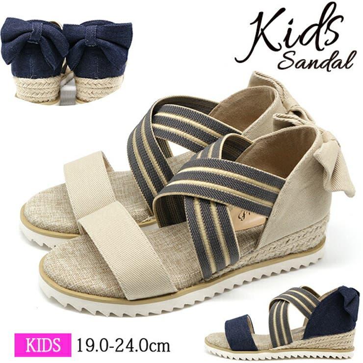 サンダル キッズ 子供   靴のニシムラ   詳細画像1