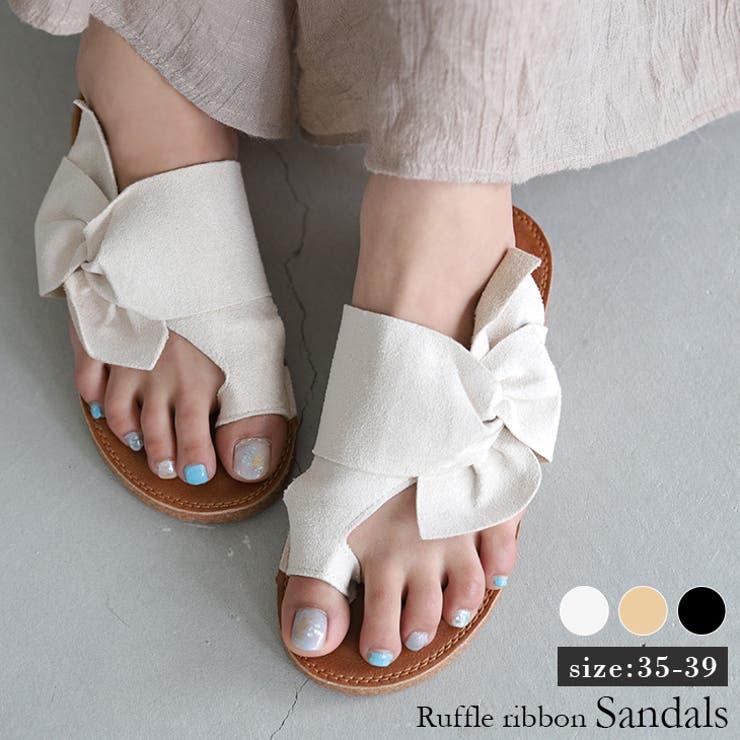 La-gemmeのシューズ・靴/トングサンダル   詳細画像