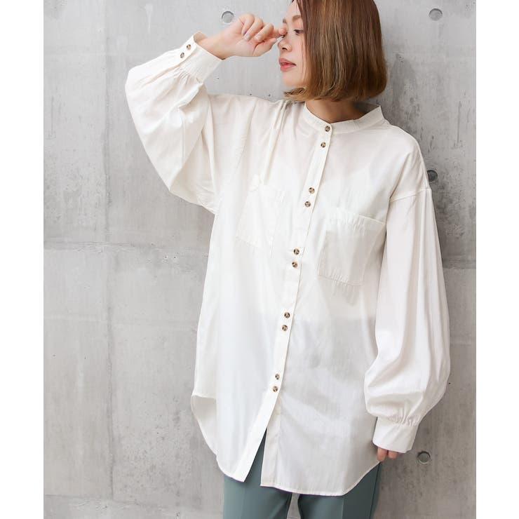 ダブルボタンオーバーサイズシャツ | Social GIRL | 詳細画像1