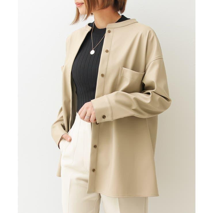 エコレザーCPOシャツジャケット   Social GIRL   詳細画像1