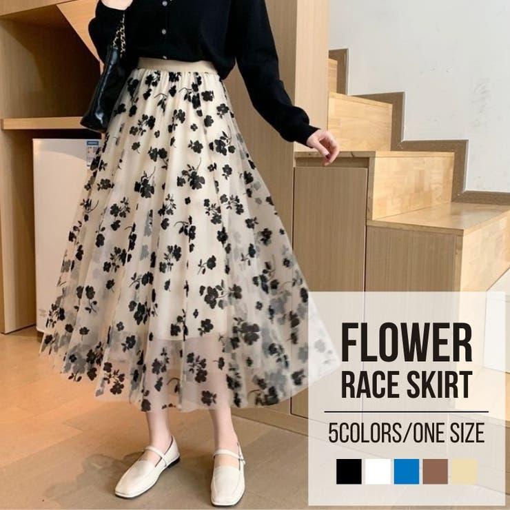 Lady Girlsのスカート/フレアスカート   詳細画像