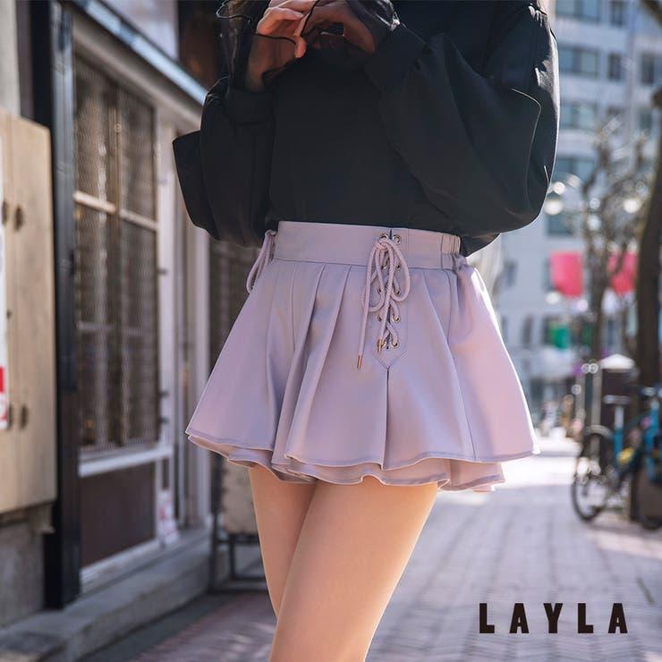 ベネシャンレースアップスカパン ファッション通販 女性 | LAYLA | 詳細画像1