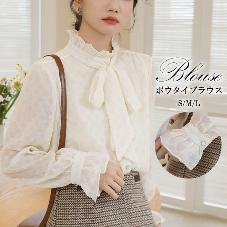 韓国 ファッション ブラウス | La Bella | 詳細画像1