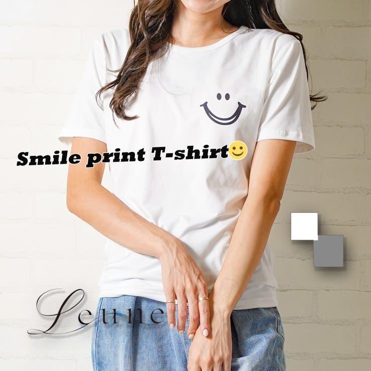 ワンポイントTシャツ | leune  | 詳細画像1
