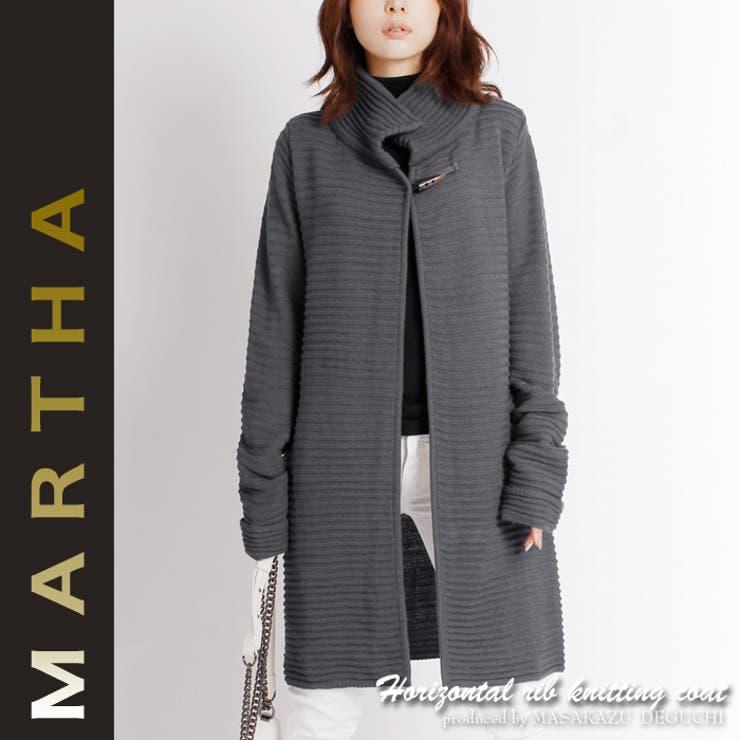 【MARTHA】マーサ★ショートニットコート[16036]