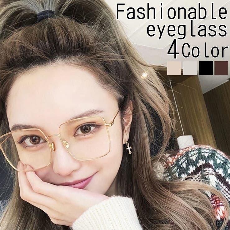 伊達メガネ レディース 眼鏡   LINOFLE   詳細画像1