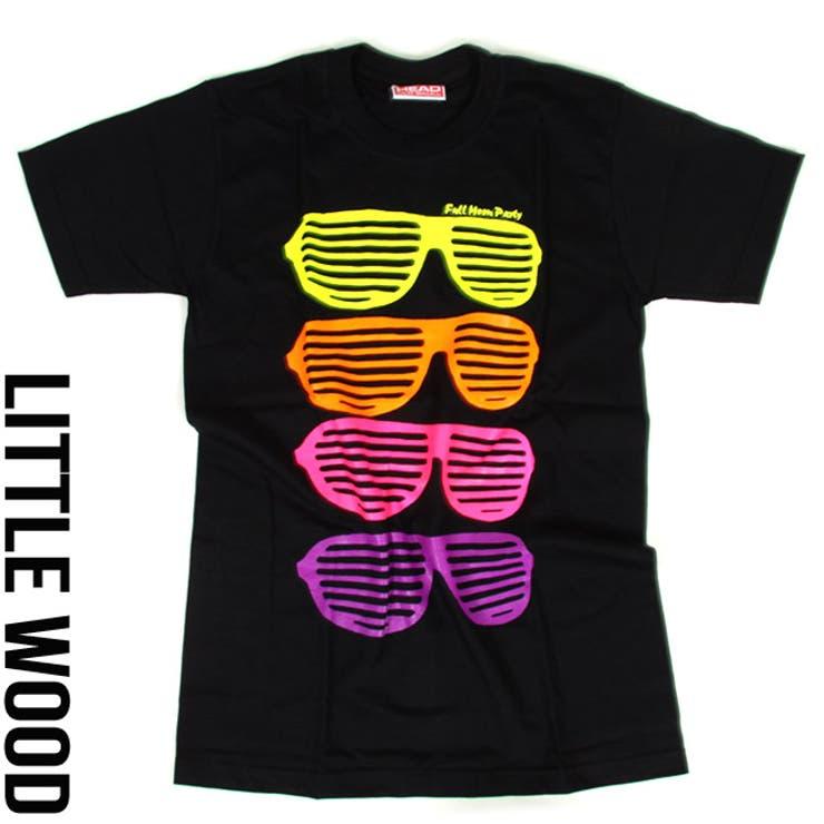 カラフル メガネ プリント 半袖 tシャツ M L XL【T583】キッズ ジュニア レディース メンズ ダンス衣装ヒップホップtシャツ