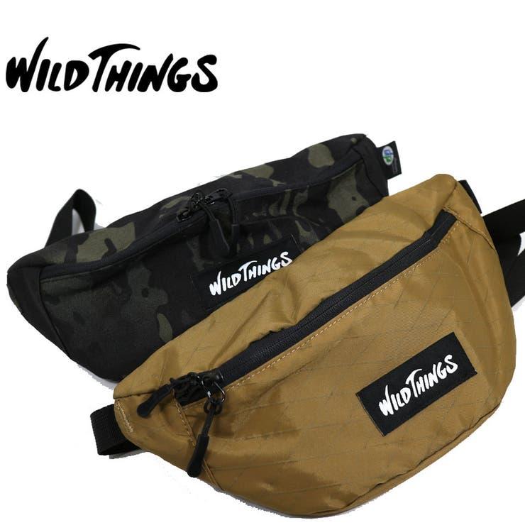 WILDTHINGS ワイルドシングス ウエストバッグ | Lumie | 詳細画像1