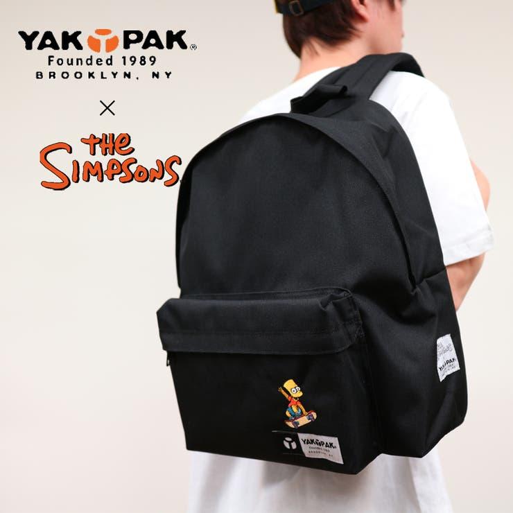 ヤックパック×シンプソンズ 限定コラボアイテム リュック バックパック | Lumie | 詳細画像1