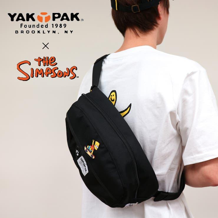 ヤックパック×シンプソンズ 限定コラボアイテム ボディバッグ ウエストバッグ   Lumie   詳細画像1