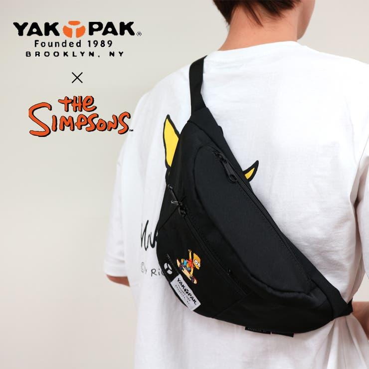 ヤックパック×シンプソンズ 限定コラボアイテム ボディバッグ ウエストバッグ | Lumie | 詳細画像1