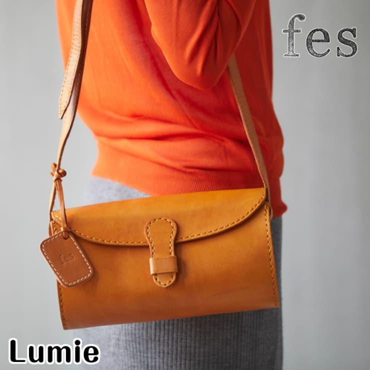 fes/フェスカウレザーショルダーバッグ | Lumie | 詳細画像1