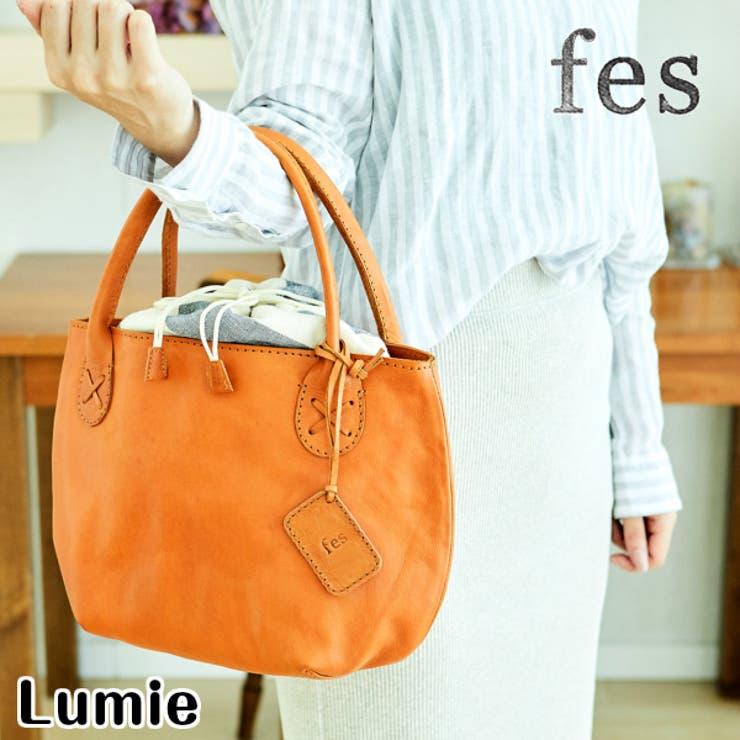 fes/フェスカウレザーハンドバッグ | Lumie | 詳細画像1
