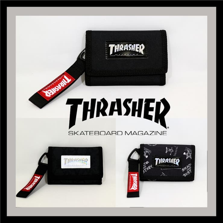 THRASHER/スラッシャー 折財布 | Lumie | 詳細画像1