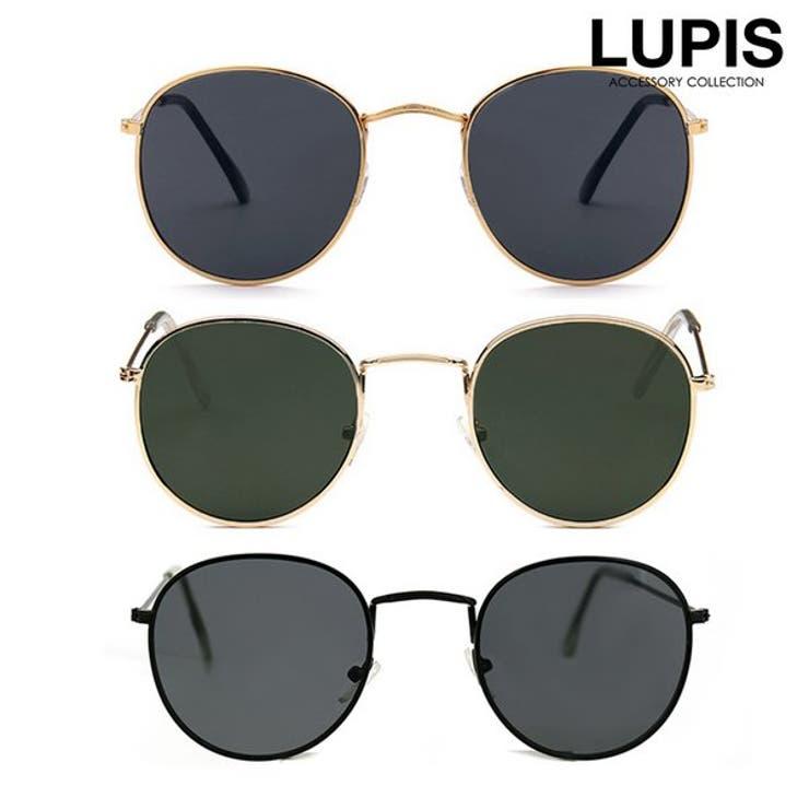 クラシックオーバルサングラス  | LUPIS | 詳細画像1
