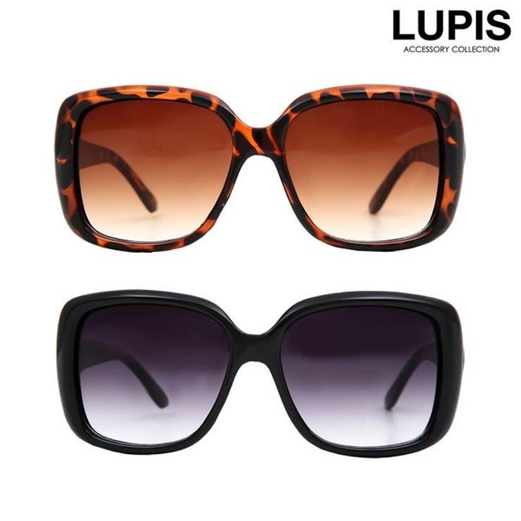 スクエア型BIGサングラス  | LUPIS | 詳細画像1