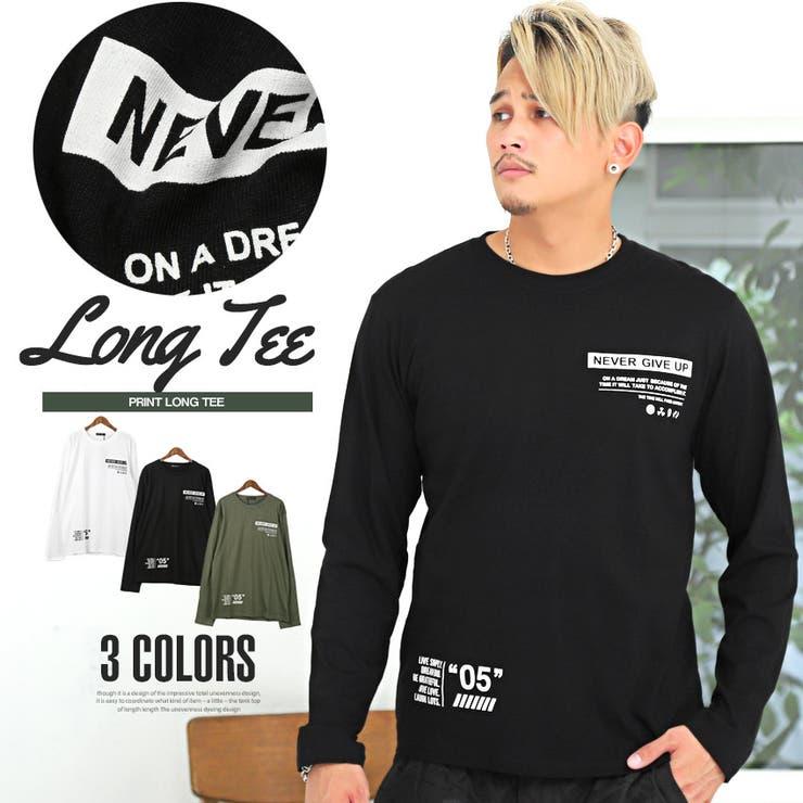 ロンT メンズ 長袖Tシャツ | LUXSTYLE | 詳細画像1