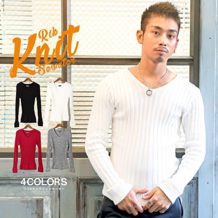 ニット メンズ セーター | LUXSTYLE | 詳細画像1