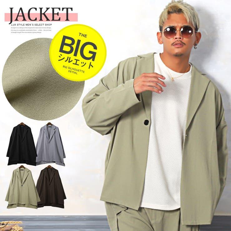 テーラードジャケット メンズ ビッグシルエット | LUXSTYLE | 詳細画像1
