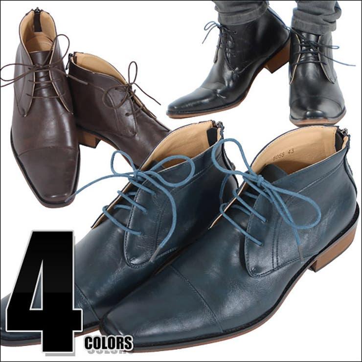 ... 紐靴 紳士 革 dedes デデス Men's