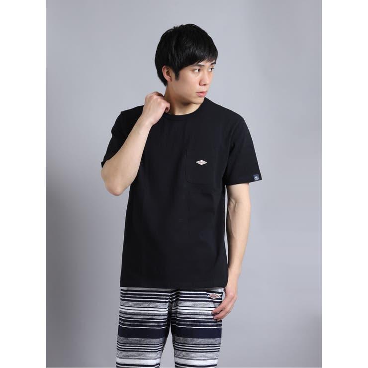 ボール/BALL 綿天竺 クルーネック半袖Tシャツ | TAKA-Q MEN | 詳細画像1