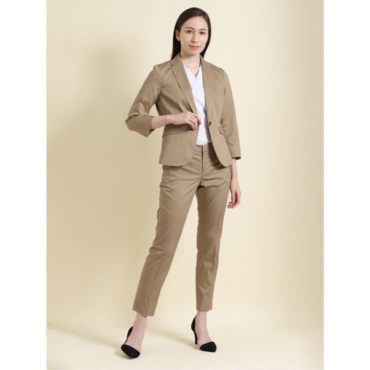 クールマックス COOLMAX 1ボタンジャケット+スカート+パンツ   TAKA-Q   詳細画像1