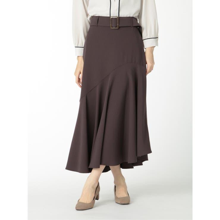 ジョーゼット ロングマーメイドスカート | TAKA-Q | 詳細画像1