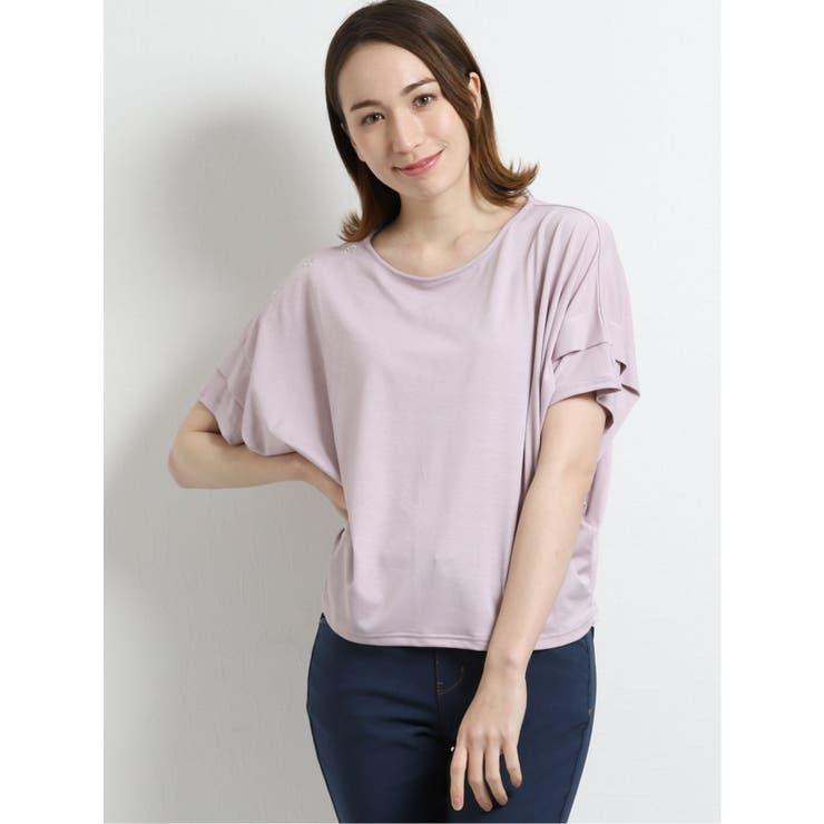 TAKA-Qのトップス/Tシャツ   詳細画像
