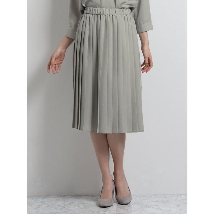 TAKA-Qのスカート/プリーツスカート   詳細画像