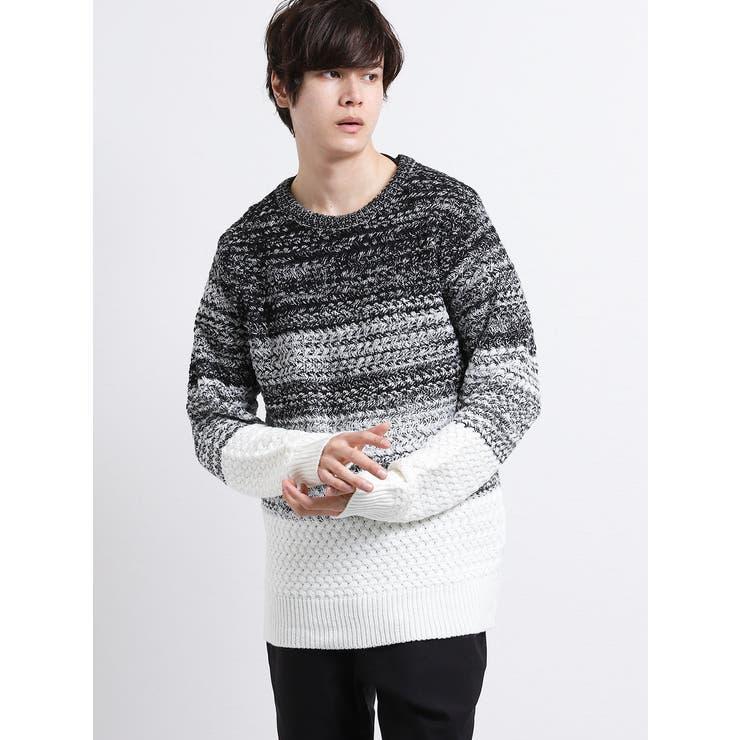 TAKA-Q MENのトップス/ニット・セーター   詳細画像