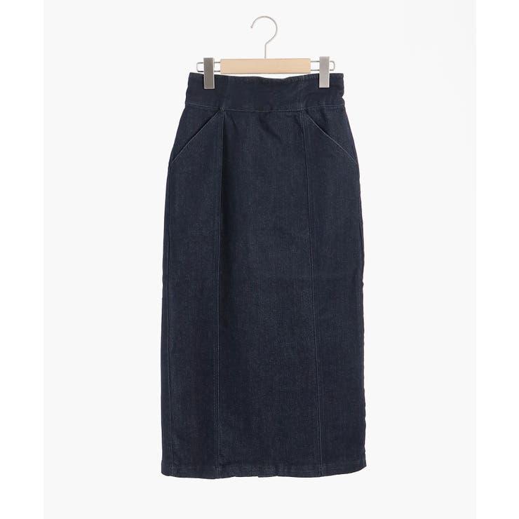 スリムストレッチIラインスカート   MAJESTIC LEGON    詳細画像1