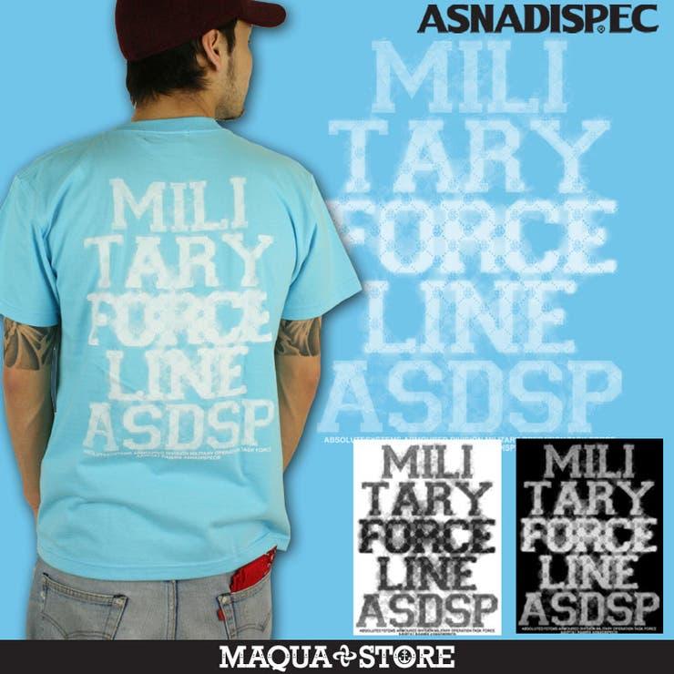 【ASNADISPEC/アスナディスペック】FORCETEE/煙アート半袖Tシャツ/3045/ | 詳細画像