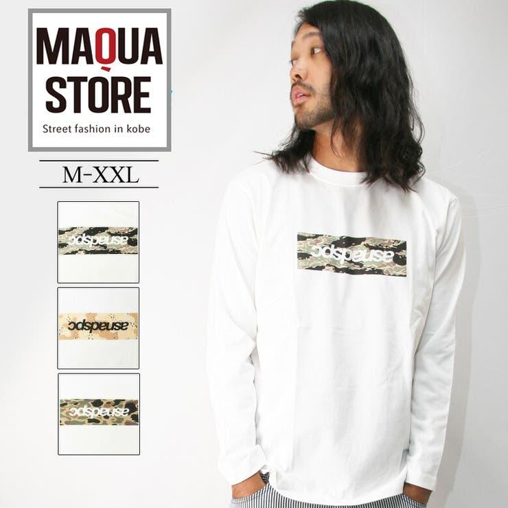 ASNADISPEC ロンT メンズ   Maqua-store   詳細画像1