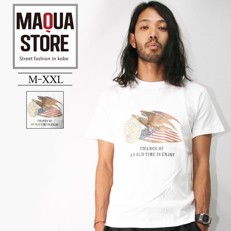 ASNADISPEC Tシャツ メンズ   Maqua-store   詳細画像1