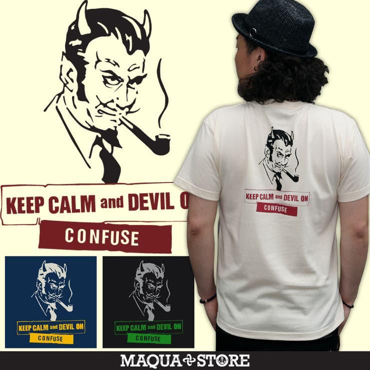 【CONFUSE/コンフューズ】DEVILONTEE/デビル半袖Tシャツ | 詳細画像