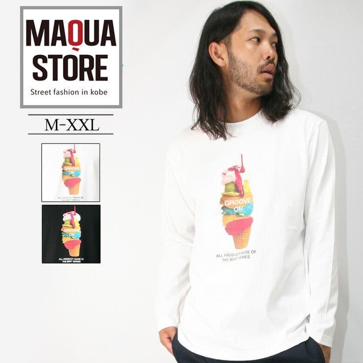 GROOVEON ロンT メンズ   Maqua-store   詳細画像1