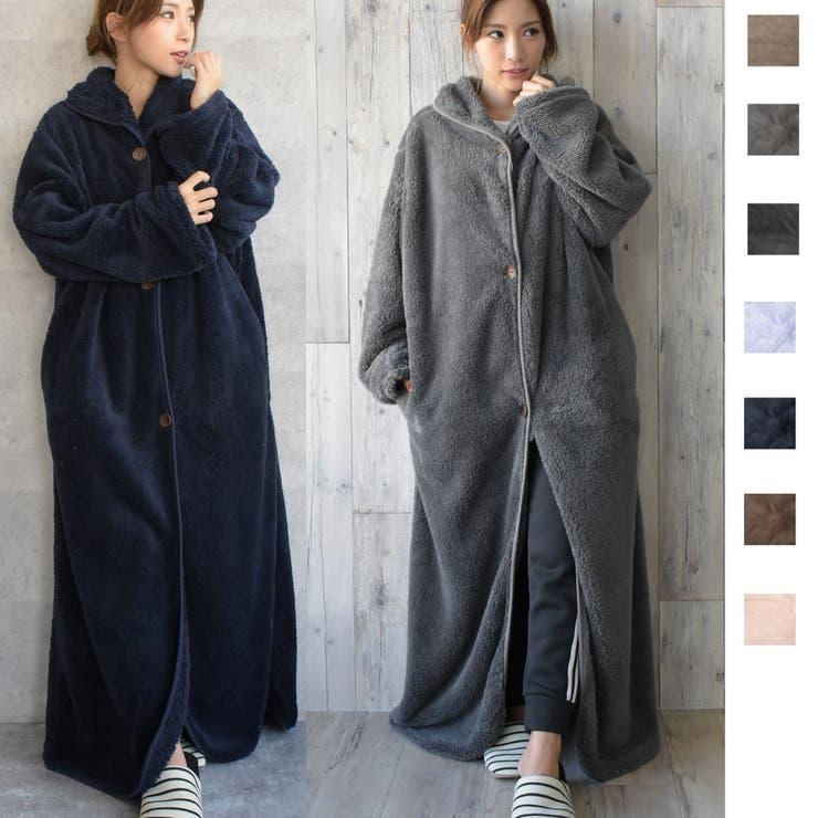 モコボア 着る毛布 カーディガン   Maria Trinity   詳細画像1