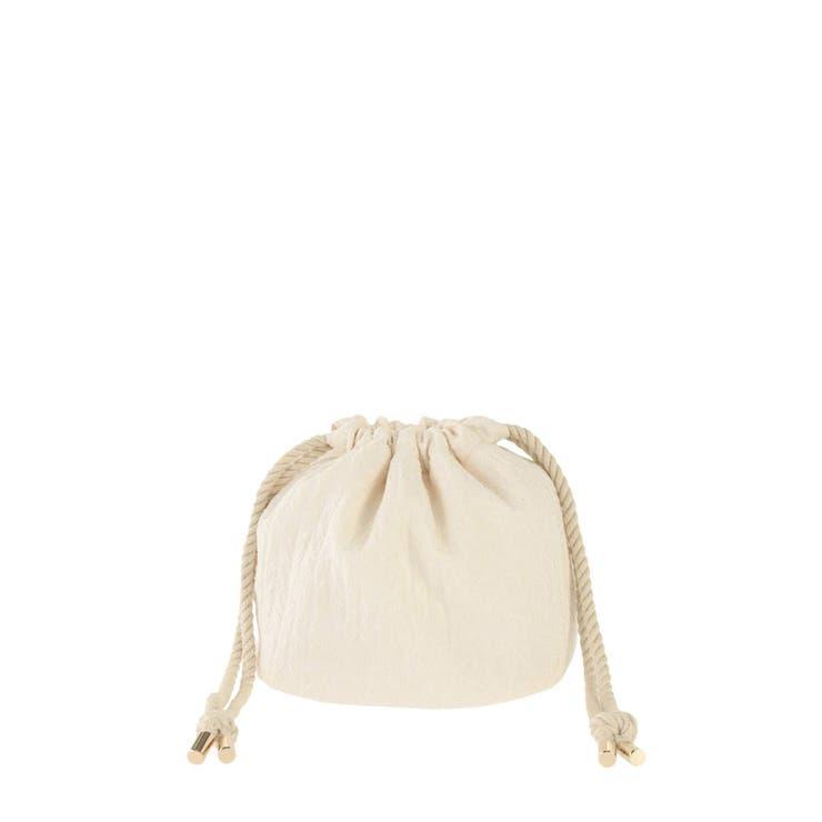 ジャカード巾着バッグ | MERCURYDUO | 詳細画像1