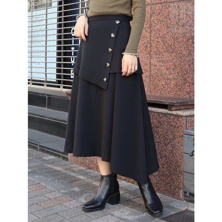 ハイウエストレイヤードスカート   MURUA   詳細画像1