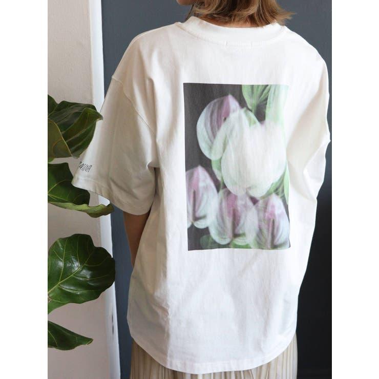 【MURUA×217..NINA】フラワーライフTシャツ   MURUA   詳細画像1