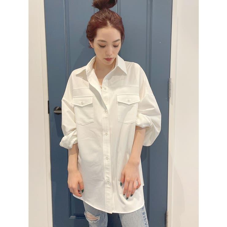 オーバーサイズシャツ | GYDA | 詳細画像1