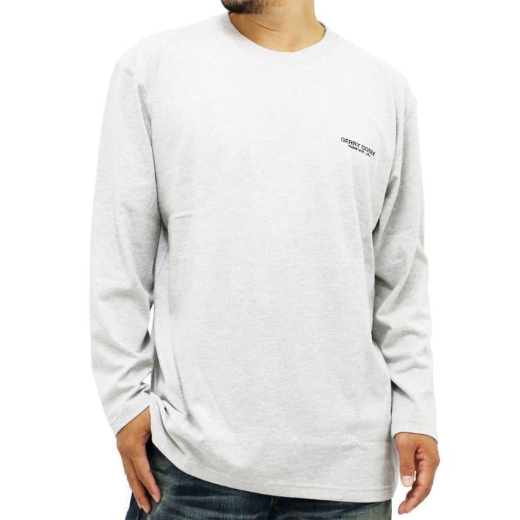大きいサイズ メンズ Tシャツ 長袖 cosby【キングサイズ 2L 3L 4L 5L コスビー ブランド 無地 ワンポイント 刺繍デオドラント 消臭 抗菌】