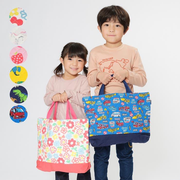 【子供服】KidsForet(キッズフォーレ)総柄レッスンバッグ・おけいこバック・サブバックB15608 | 詳細画像